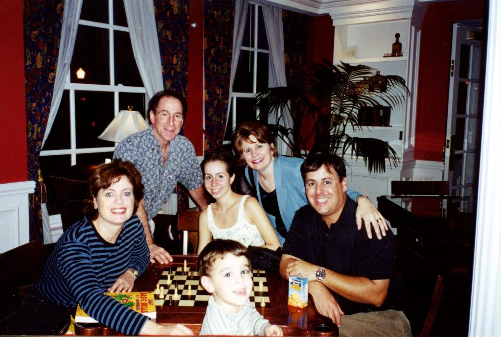 2000 Benedetto Player Savannah Music Festival Concert with Patty and Andy  Paul., Bob Benedetto, Cindy and Gina Benedetto.