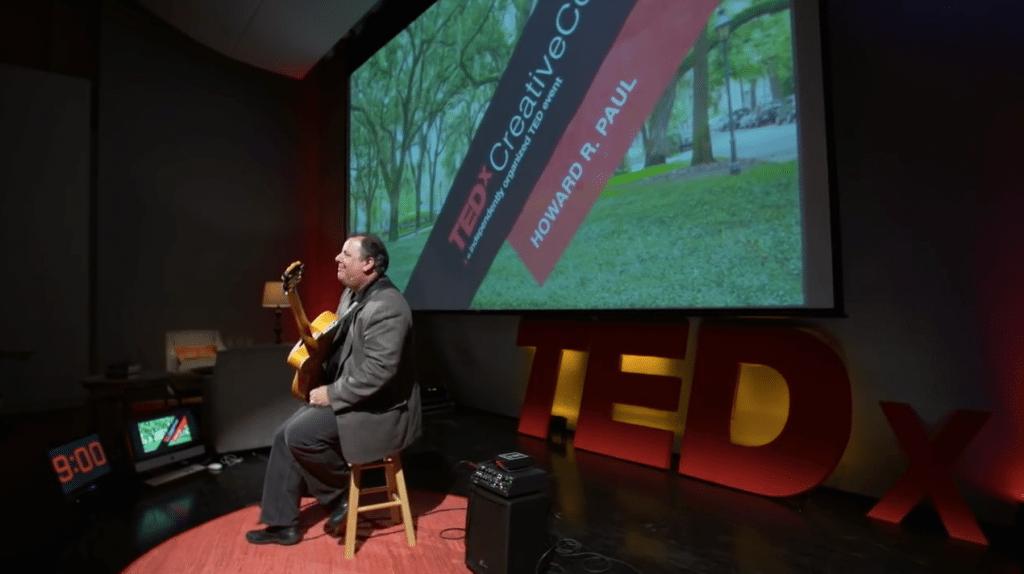 "TEDx Talk 2015 at Telfair Museum, Savannah.  ""Balance"""