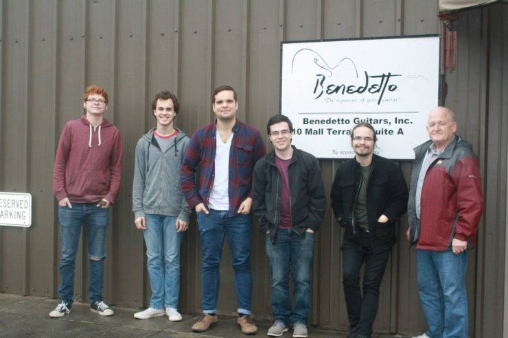 Benedetto Tour with students from Winthrop University w/LH Dickert