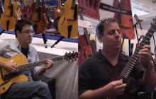 Dan Faehnle and Howard Paul at the Dallas International Guitar Show 2008