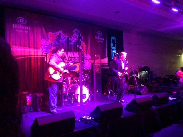 The Presidents.  NAMM 2013 with Jody Espina, Howard Paul, Jason Gano and Rick Drumm